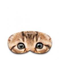 Máscara para Dormir Gatinho Gato - Amarelo - Único - Gorila Clube