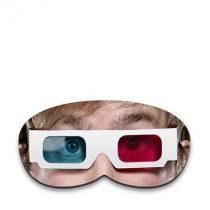 Máscara para Dormir Óculos 3D - Colorido - Único - Gorila Clube