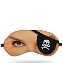 Máscara para Dormir Pirata - Preto - Único - Gorila Clube