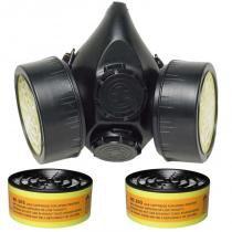 Máscara para Gás CG 306 com 2 Cartuchos RC 203 CARBOGRAFITE - ce50e38d21