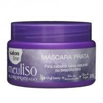 Máscara Prata Salon Line Meu Liso Loiro Prateado 300g -