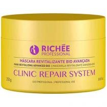 Máscara Revitalizante 250g Clinic Repair Richée Hidratação RC-036 -