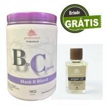 Mask R Blond Prolinehair mais brinde oleo de Argan -