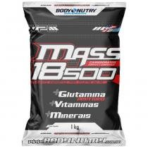 Mass 18500 - 1 Kg - Refil - Body Nutry - Morango -