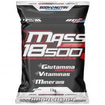 Mass 18500 - 1 Kg - Refil - Body Nutry - Morango Com Banana - Body Nutry