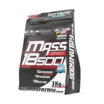 Mass 18500 - 3000g Refil Sabor Morango com Banana - Body Nutry -