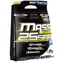 Mass 25500 + Creatine Magna Power - Refil -  1,5 Kg - Body Nutry - Chocolate -