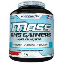 Mass Bns Gainers - 3Kg -Body Nutry - Chocolate - Body Nutry