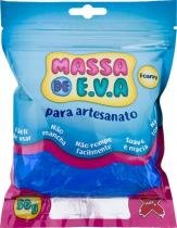 Massa de Eva Para Artesanato Azul Escuro 50 Gramas - Make -