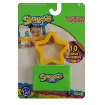 Massa de Modelar Esticável - Skwooshi - Formas Coloridas - Estrela Amarelo - Sunny - Sunny