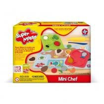 Massa de Modelar - Super Massa - Mini Chef - Estrela -