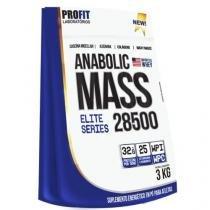 Massa Hipercalórica Anabolic Mass 28500 Profit 3kg 32g Proteína -