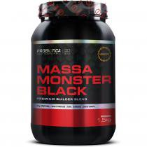 Massa Monster Black 1,5kg Probiótica -