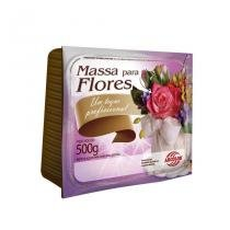 Massa para Flor Colorida 500g Arcolor - Vermelho - Festabox
