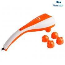 Massageador Double Massage RM-MH5015 Laranja - Relaxmedic - Relaxmedic