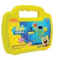 Massinha bob esponja mini maleta sunny 447 - Sunny