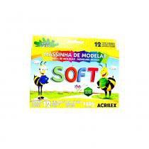 Massinha De Modelar Soft Acrilex C/12 Un -