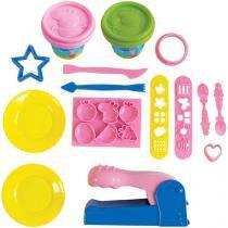 Massinha Ki-Massa Mega Kit da Peppa Pig - Sunny Brinquedos com Acessórios