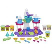 Massinha Play-Doh Castelo de Sorvete - Hasbro com Acessórios