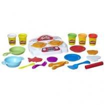 Massinha Play-Doh Criações no Fogão - Hasbro com Acessórios
