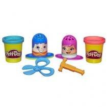 Massinha Play-Doh Criar e Cortar Cabelo - Hasbro com Acessórios