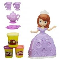 Massinha Play-Doh Hora do Chá da Princesa Sofia A7398 Hasbro - Hasbro