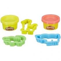 Massinha Play-Doh  Moldes de Animais Hasbro - com Acessórios