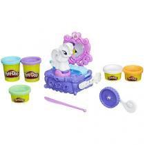 Massinha Play-Doh My Little Pony Rarity - Penteadeira e Estilo Hasbro com Acessórios