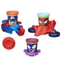 Massinha Play Doh Veículos Marvel Avengers B0606 - Hasbro - Hasbro