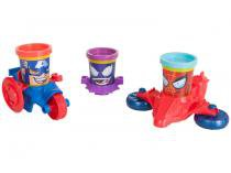 Massinha PlayDoh Marvel Pote Veículo - Hasbro
