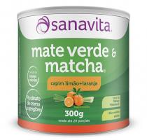Matcha  Mate Verde 300G Sanavita Capim Limão + Laranja - Sanavita