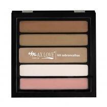 Max Love - Kit Sobrancelhas Pele Clara N01 - 13g - Max Love