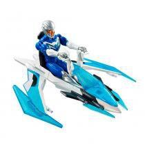 Max Steel Max com Veículo Jet Velocidade Explosiva - Mattel - Mattel