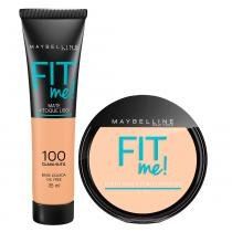Maybelline Fit Me Kit - Pó Compacto + Base -