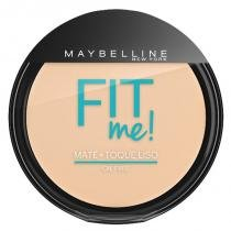 Maybelline Fit Me Pó Compacto 10g - 100 Claro Sutil - Maybelline