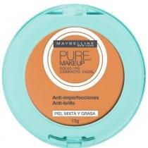 Maybelline Pure Makeup Pó Compacto 13g Dourado - LOréal