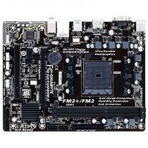 MB P/ FM2+, Chipset A68H, 64GB, DDR3, D-SUB, HDMI, 1 PCI-EX16, 1 PCI-EX1, 1 PCI, Sata, Micro ATX - Gigabyte