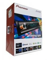 Media Receiver MP3 Pioneer Mvh-x30br Mixtrax Flashing Light Bluetooth usb Controle remoto -