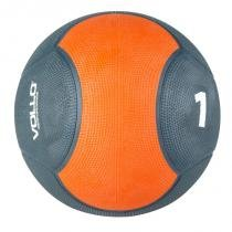 Medicine ball 1 kg emborrachada crossfit vollo vp1001 - Vollo