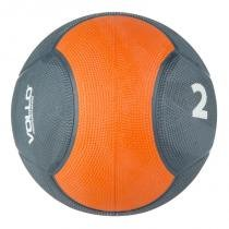 Medicine ball 2 kg emborrachada crossfit vollo vp1002 - Vollo