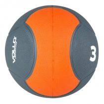 Medicine ball 3 kg emborrachada crossfit vollo vp1003 - Vollo