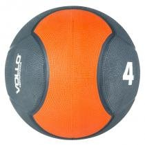Medicine ball 4 kg emborrachada crossfit vollo vp1004 - Vollo