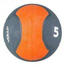 Medicine ball 5 kg emborrachada crossfit vollo vp1005 - Vollo