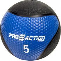 Medicine Ball 5 Kilos Proaction G193 Feita de Material Totalmente Emborrachado -