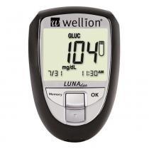 Medidor de Glicose e Colesterol Luna Duo Wellion Preto - Wellion Luna