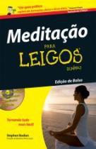 Meditacao Para Leigos - Edicao De Bolso - Alta Books - 1