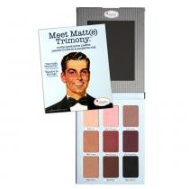 Meet Matt(e) Trimony The Balm - Paleta de Sombras - The Balm