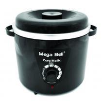 Mega Bell - Aquecedor de Cera - Cera Matic Junior Preta - BIVOLT - Mega Bell