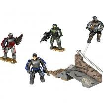 Mega Bloks Call Of Duty Pacote de Tropas Soldados Avançados - Mattel - Mega Bloks
