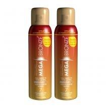 Mega Bronze - Kit com 2 Spray Autobronzeador - 2x150ml - Miss Mag